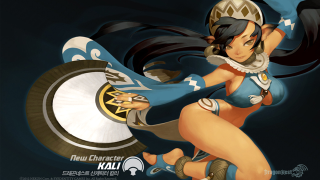dragon nest kali
