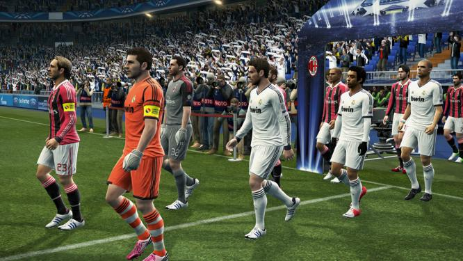 PES 2013 Champions League Screenshots  1