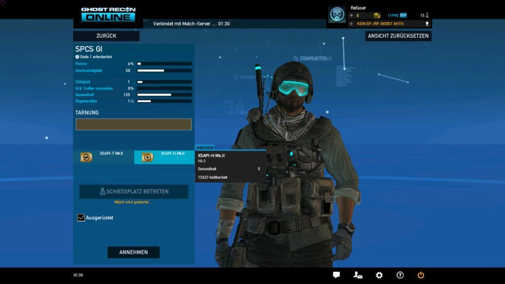ghost recon online bag 2