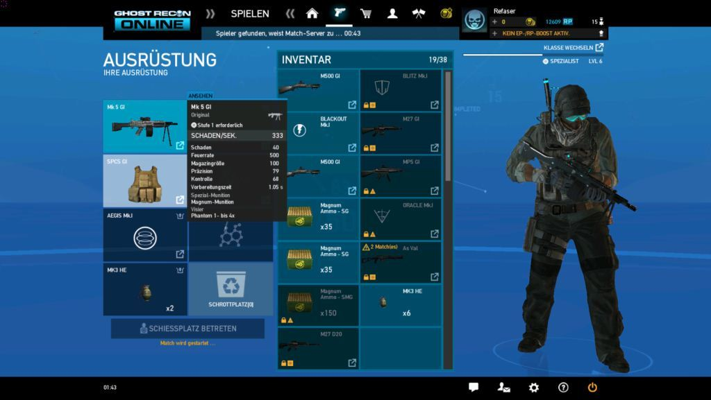 ghost recon online bag 6